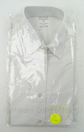 Nederlands leger DAMES GLT wit overhemd KORTE mouw - nieuw in verpakking - maat 36 of 40 - origineel