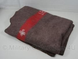 Wollen deken - 200 x 140 cm - origineel Zwitserse leger deken 1954