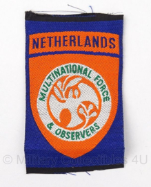Embleem KMAR Multinational Force and Observers - 8 x 5 cm - Origineel