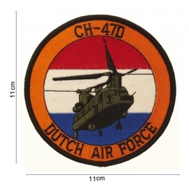 Embleem Chinook CH-47D Dutch Air Force - 11 cm