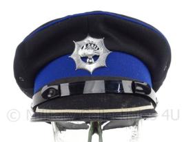 Nederlandse Rijkspolitie pet - hogere rang - maat 57, 59 of 59,5 - origineel