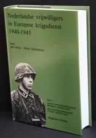 Boek Nederlandse vrijwilligers in Europese Krijgsdienst 1940-1945 - Deel 3