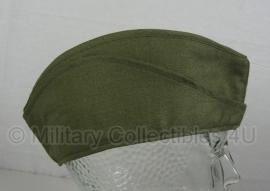 Origineel leger schuitje GRP - groen - met leren band - maat 56 - origineel