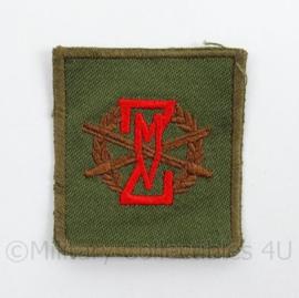 KL Landmacht vaardigheids borst embleem ZMV Zware Militaire Vaardigheidsproeven - afmeting 4,5 x 5 cm - origineel