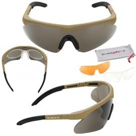 SwissEye bril Raptor - COYOTE