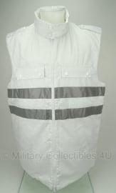 KL leger Geneeskundige Dienst bodywarmer  sneeuw uniform - 9010 / 1520 - WIT - origineel