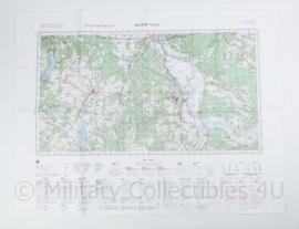 Poolse Stafkaart Cybinka N-33-137,138 - 1 : 100.000 - 64 x 84 cm - origineel