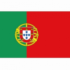 Vlag Portugal - Polyester -  1 x 1,5 meter