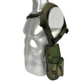 Britse leger schouderholster met draagstel DPM camo - origineel