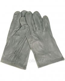 Handschoenen Duits leger grijs leder - maat 7,5 of 9 - origineel