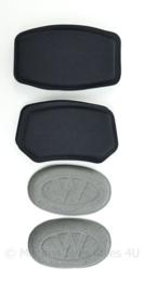 KL Nederlandse Leger ballistische helm Wendy ballistic spare comfort pads kit set black- NIEUW in verpakking - origineel