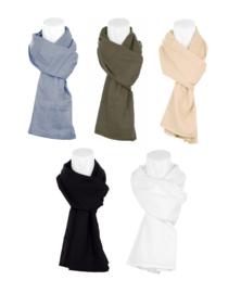 Cheche sjaal 100% lichte katoen - 225 x 90 cm - in verschillende kleuren verkrijgbaar