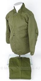 US Army NBC parka en broek Suit Chemical protective - groen - Maat Extra Small - IN VERPAKKING! - origineel 1980