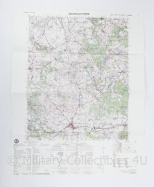 USA Defence mapping agency stafkaart Poland Drawsko Pomorskie M753 2524II- 1 : 50.000 - 74 x 58 cm - origineel