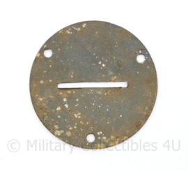 Bodemvondst WO2 Duitse werkzeugmarke - diameter 5 cm - origineel