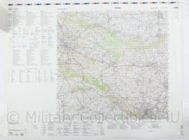 Duitse militaire stafkaart C3914 Bielefield - 1 : 100.000 - 74 x 56 cm - origineel