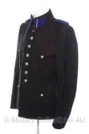 Schalkhaar politie uniform - met kraagemblemen en schouderstukken - maat 39/102 - origineel WO2 Duits/Nederlands