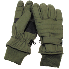 Handschoen Thinsulate groen - fleece