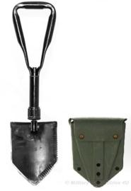 US Army Zwarte klapschep MET hoes - origineel