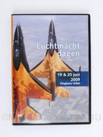 KLU Koninklijke Luchtmacht DVD Luchtmachtdagen 19 & 20 juni 2009 Vliegbasis Volkel - NIEUW - origineel