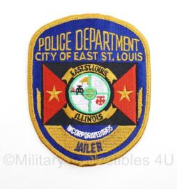 US Police Department City of East ST Louis Jailer embleem - origineel