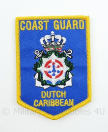 COAST GUARD Dutch Caribbean met klittenband- 9 x 6,3 cm
