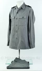 KLU luchtmacht visgraat uniform set grijs 1969/1970 - Zeldzaam - Origineel