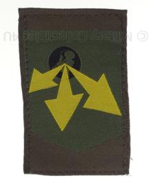 KL eenheid arm embleem  Divisie Logistiek Commando, eerste versie - origineel