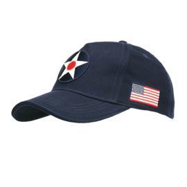 Baseball cap US Army Air Corps - donkerblauw
