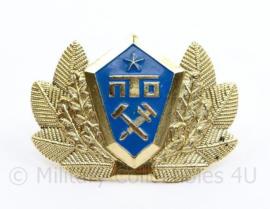 Russische leger officiers pet speld - 6 x 4 cm - origineel
