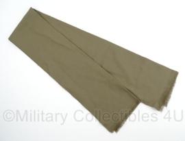 KL leger sjaal groen - 100% scheerwol - origineel Nederlands leger