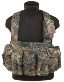 Chest rig 6 pocket - Flecktarn