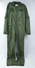 KLu Luchtmacht Nomex overall 1987 - maat staat met stift op de borst geschreven - zo goed als nieuw - maat 44/185 - origineel