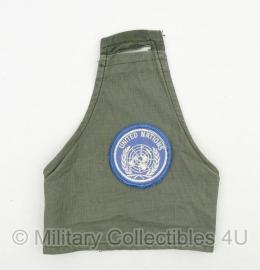 KL armband / schouderband groen United Nations  - origineel
