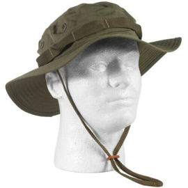 US Army Boonie Hat Sun Hot Weather - maker Teesar, INC - OD Green - size Large