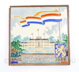 Geboortetegel Prinses Irene 5 augustus 1939 - Nieuwe Vreugd - 13 x 13 x 1 cm - origineel