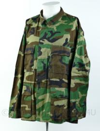 US Army Woodland BDU Jas  - Large Regular - zonder emblemen (of resten ervan) Nieuwstaat - Origineel