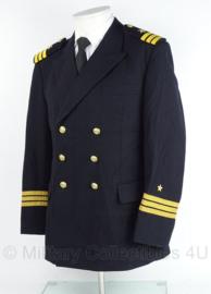 Duitse Bundes Marine uniform jas - rang Korvetten Kapitan  - lengte 170 / borst  100 cm - origineel