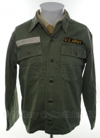 US hbt jas Jackets Herringbone Twill  - size small - origineel vietnam oorlog
