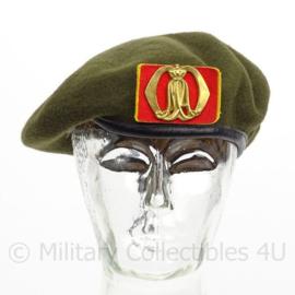 KL Koninklijke Landmacht KMA baret met insigne - 1986 - maat 59 - origineel