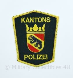 Zwitserse Kantons Polizei embleem - 10 x 8 cm - origineel