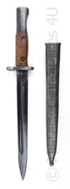 Bajonet M1948 Joegoslavisch leger Yugoslavian M1948 Mauser rifle bajonet - 40 cm - origineel