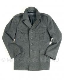 Zwitsers vintage groene wollen uniform jas- lijkt op Duits WO2 - origineel