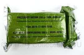 Emergency Ration 250g. Nederlands leger - noodrantsoen - Lam-o-fol - origineel