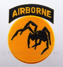 US 135th  Airborne Ghost Division embleem - afmeting 6 x 9 cm - replica WO2