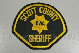 Scott County Iowa Sheriff Patch - origineel