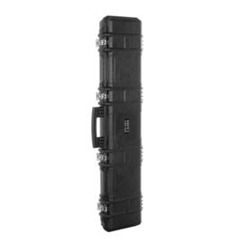 Rifle case with padding hard kunststof - 125 x 29 x 14 cm. Black