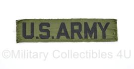 US Army naoorlogse BDU branch lint - 11,5 x 2,5 cm - origineel