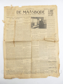 Krant de Maasbode 4 januari 1938 - origineel