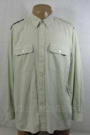 KL DT2000 Overhemd Nederlands leger lichtgroen - lange mouw - licht gebruikt -  meerdere maten - origineel